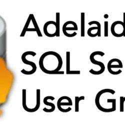 Adelaide SQL Server User Group